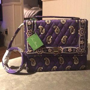 Vera Bradley Julia Simply Violet handbag